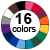 17 Color Icon for Tents/Tablecloths
