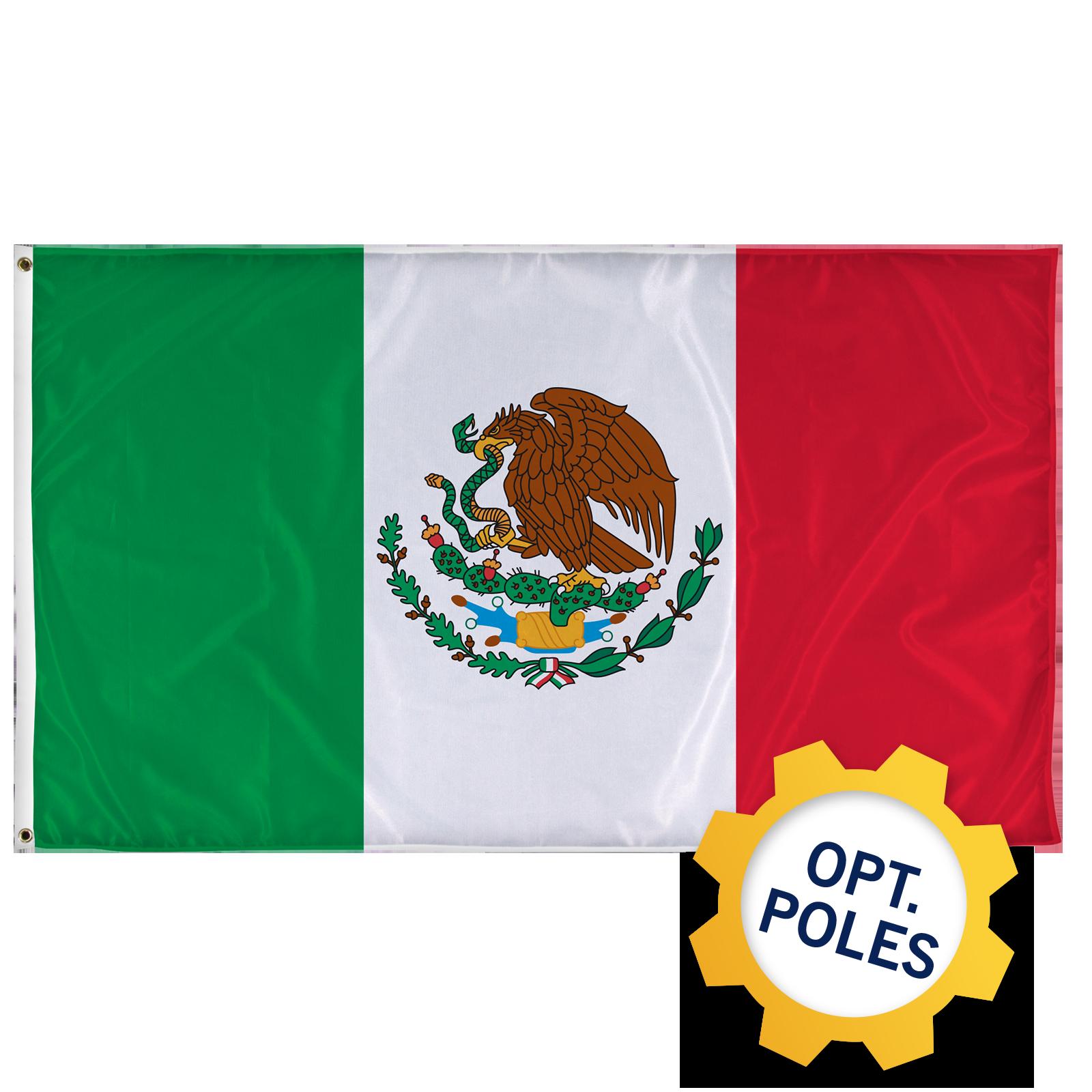 Mexico Flag   Tex Visions