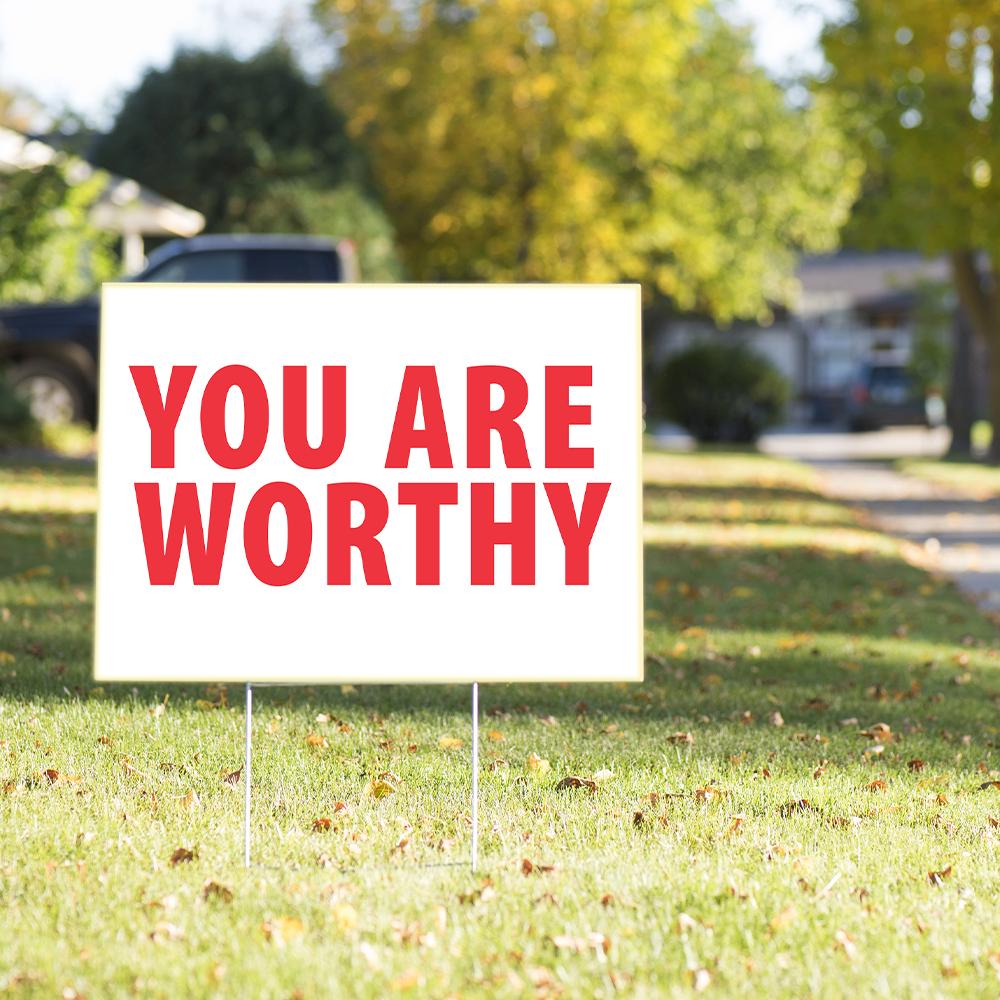 Motivational Yard Signs | Free Shipping | Tex Visions
