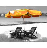Advertising umbrellas are practical displays ideal for capturing attention both indoors and outdoors.
