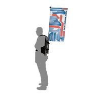 Backpack Walking Flag