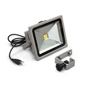 30W Silver LED Flood Light with Bracket