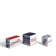 Paperboard Cartons come in a variety of sizes for perfect product packaging.