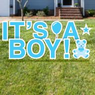 It's a Boy Yard Cards