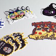 Die Cut Vinyl Stickers