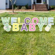 Welcome Baby Yard Cards