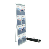 Brochure Holder Mesh Double Plus