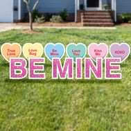 Be Mine Yard Cards