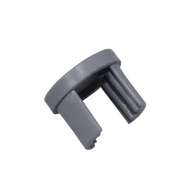 "End Cap for Aluminum Keder Profile 0.9"""
