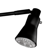 6.5W Black LED Roll Up Light
