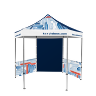Advertising Tent Plus Hex Pavilion 10' x 10' & Walls