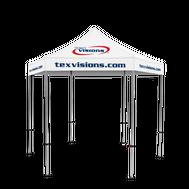 Plus Hex Pavilion Canopy Area Imprint - 10' x 10'