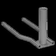 Car Base 4lb with Umbrella Pole Pipe