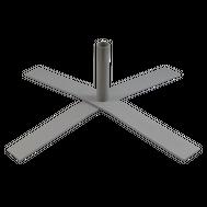 "Cross Base 32""x32""/36lb with Umbrella Pole Pipe"