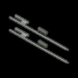 "Ground Sleeve 24"" with Aluminum Pole Connector"