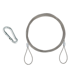 15.0' Steel Rope Hanging Set