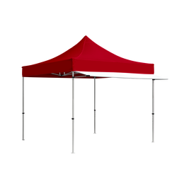 White Tent Awning