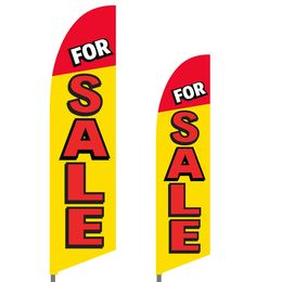 For Sale Feather Flag Set