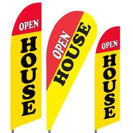 Open House Feather Flag Set