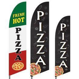 Pizza Feather Flag Set