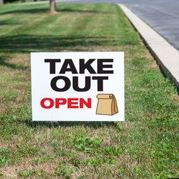 Take Out Yard Sign