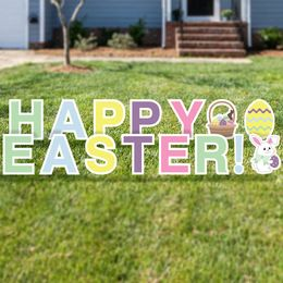 Happy Easter Yard Cards