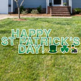 Happy St. Patrick's Day Yard Cards