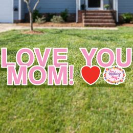 Love You Mom Yard Card