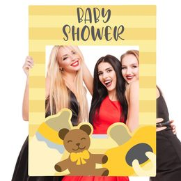Baby shower selfie frame