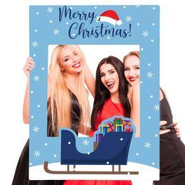 Merry Christmas selfie frame