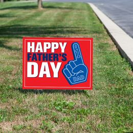 Happy Father's Day Yard Sign