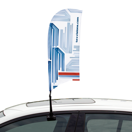 Car Feather Flag