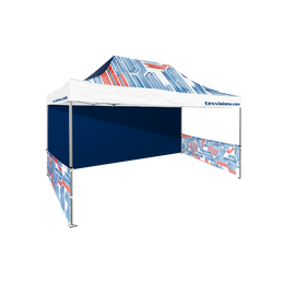 Premium All Over Print Canopy & Walls 13' x 20'