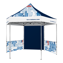 Hex Pavilion All Over Print Canopy & Walls 13' x 13'