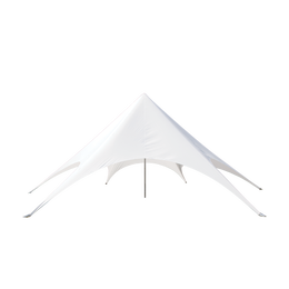 Star Tent 43' with No Print (White)