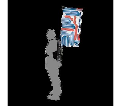 Backpack Walking Flag