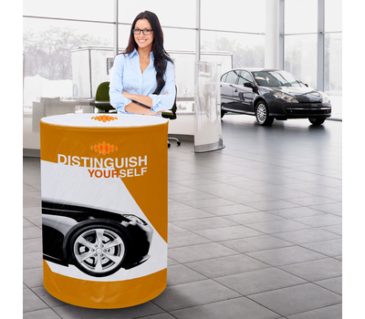 Great for car dealerships and other indoor uses