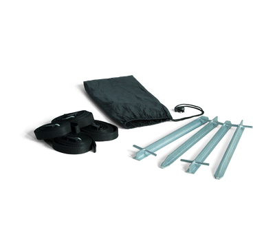 A variety of stake sets are available to stake down Air Tent frame and canopy.