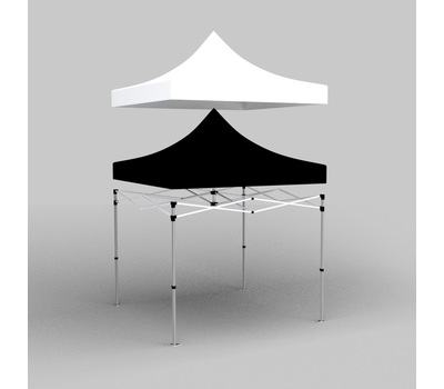 3D sketch of how the tent liner works.