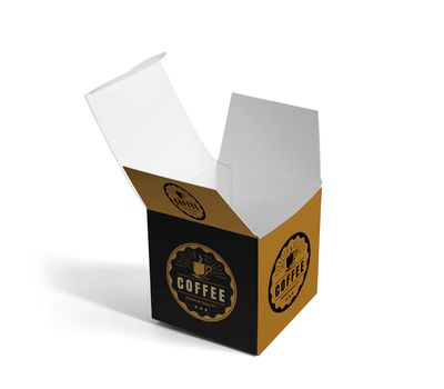 Custom designed box is sure to leave an impression.