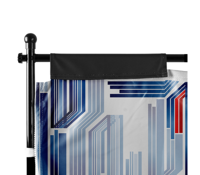 Tent Wall sides feature hook-and-loop tabs that wrap around the vertical poles of the frame.