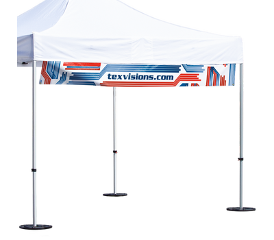 Hanging Vinyl Tent Banner