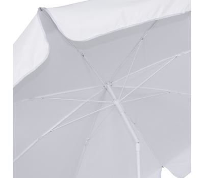 Umbrella valances add valuable advertising real estate to your client's umbrella