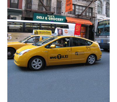 Take your client's message to the street with Tex Visions' Car Bowglag®.