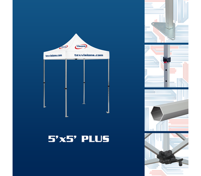 Features of the 5 x 5 plus tent