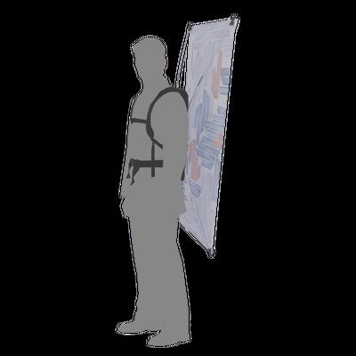 Backpack Walking Billboard