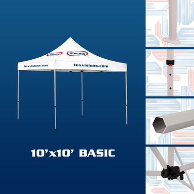 10' x 10' Basic Tent available in steel finish