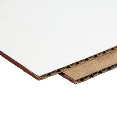 Durable cardboard material is used to construct the boxes