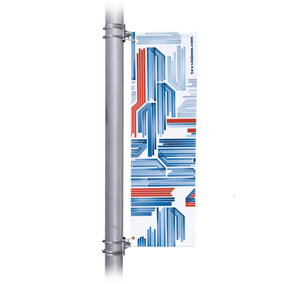 Custom Light Pole Banner