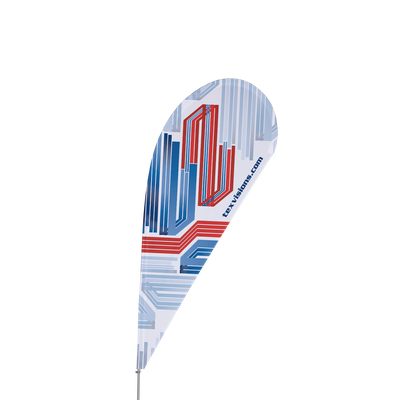 Teardrop Flag Set